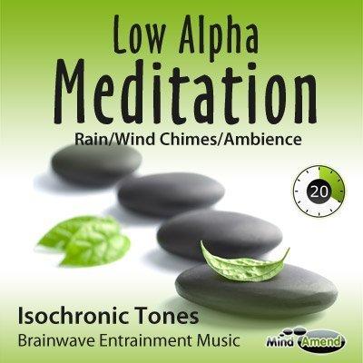 Low Alpha Meditation Rain Wind Chimes Ambience Mind Amend