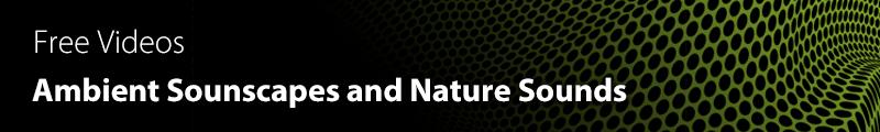 Ambient soundscapes videos