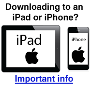 Downloading to IPads and iPhones