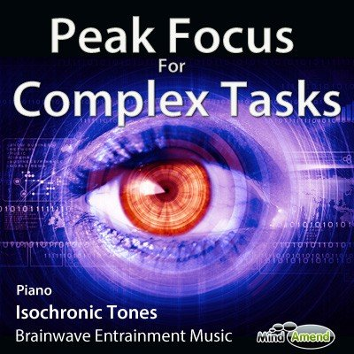 Peak Focus For Complex Tasks - piano