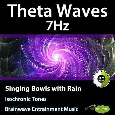 7Hz-Theta-Isochronic-Tones-Singing-Bowls-Rain