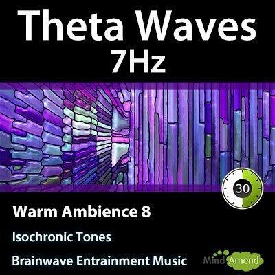 7Hz Theta Isochronic Tones - Warm Ambeince