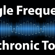Single brainwave frequency isochronic tones