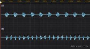 Split hemisphere isochronic tones