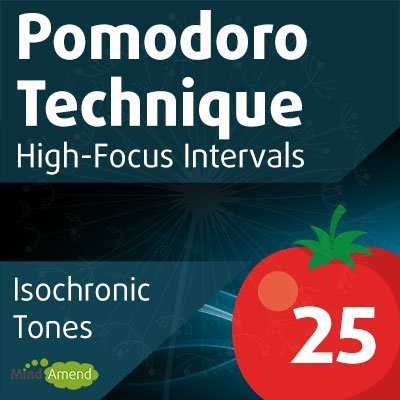 Pomodoro Technique music - 25-minute isochronic tones