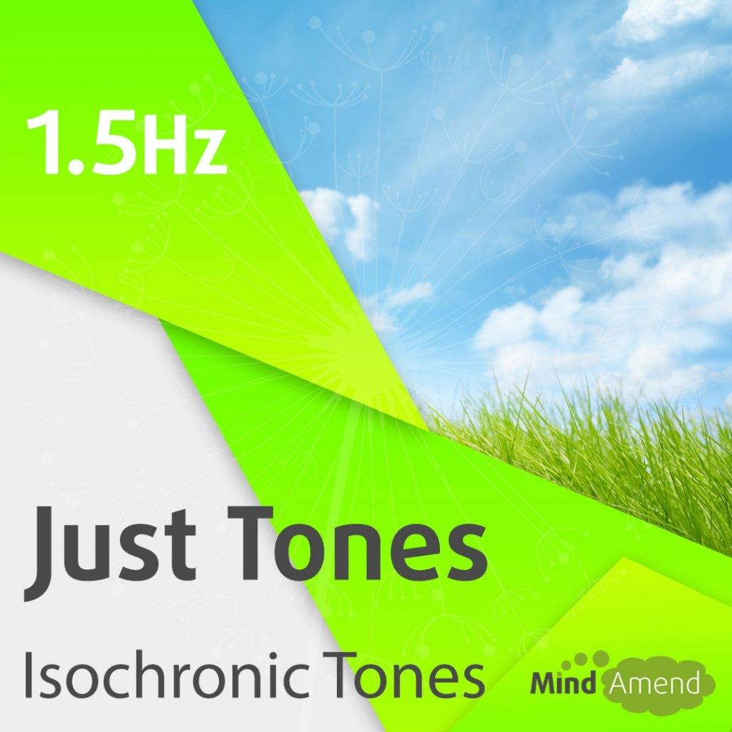 1.5Hz isochronic tones