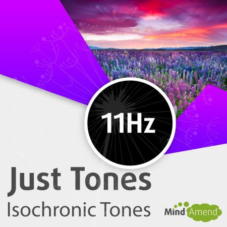 11Hz isochronic tones