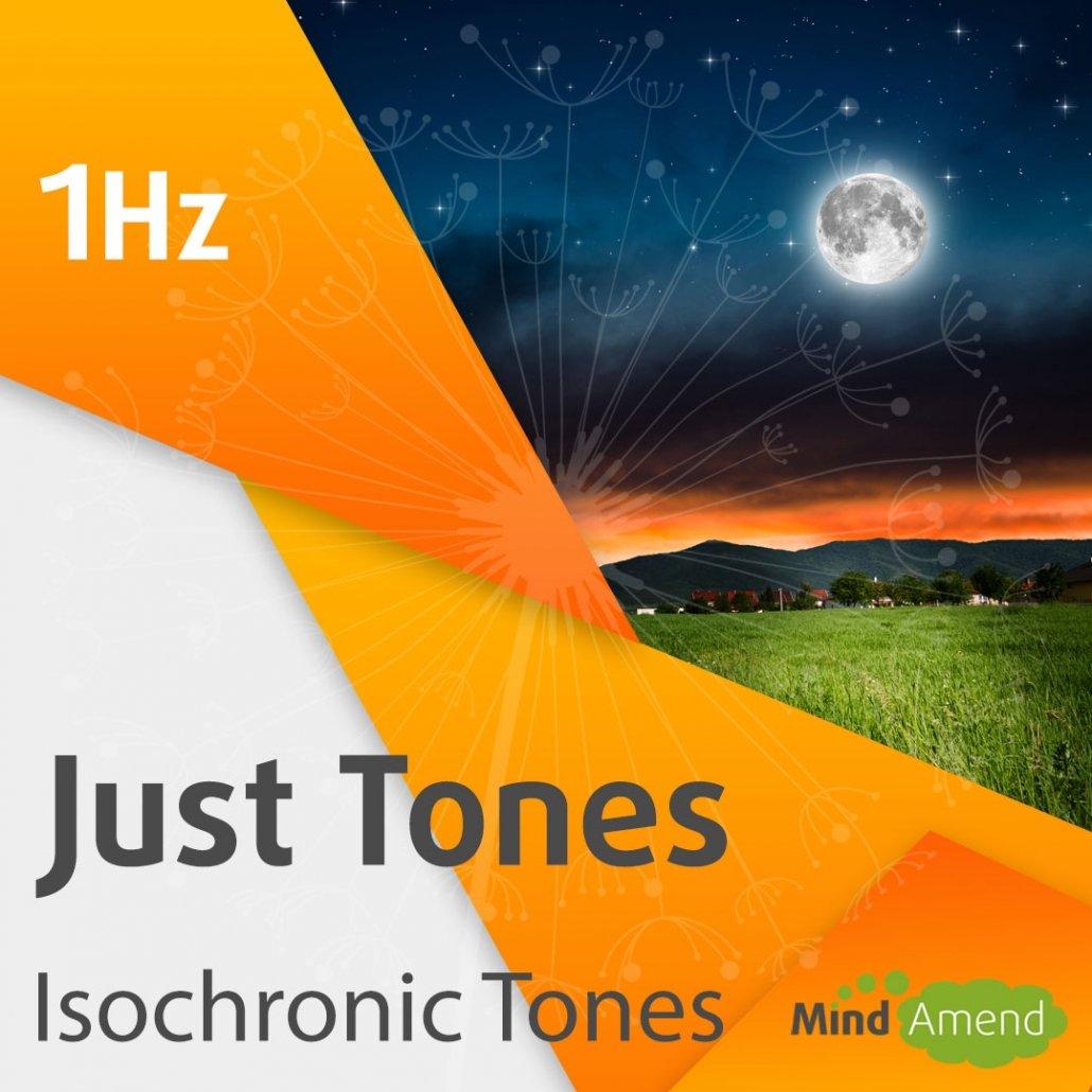 1Hz isochronic tones