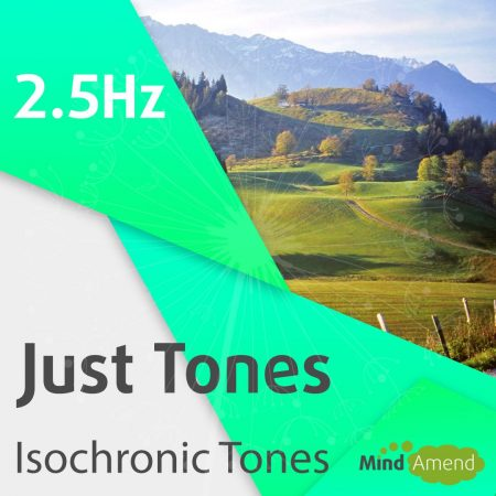 2.5Hz isochronic tones