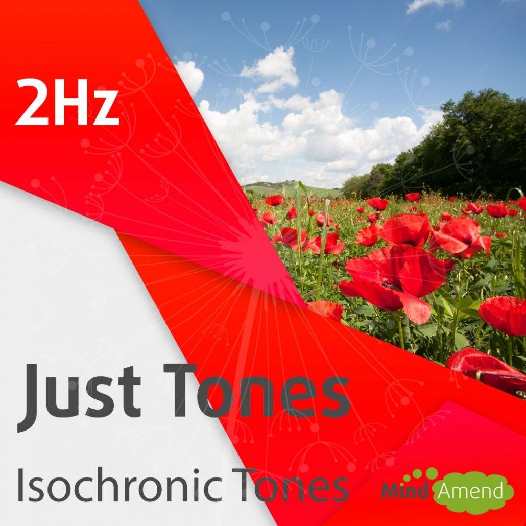 2Hz isochronic tones
