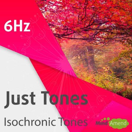 6Hz isochronic tones