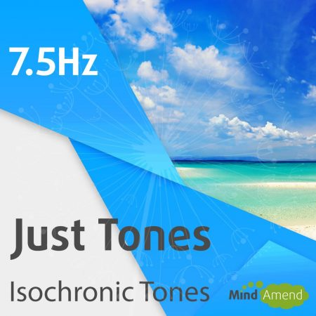 7.5Hz isochronic tones