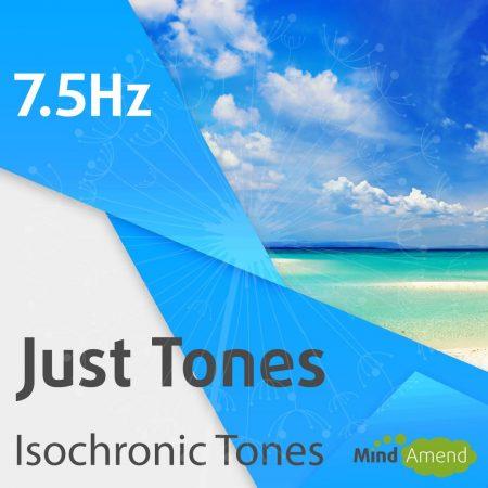 7.5Hz isochronic tones