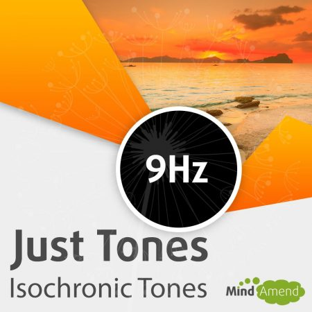 9Hz isochronic tones